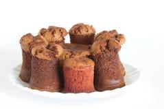 Czekoladowy ciasta torontino Zdjęcia Royalty Free