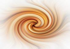 Czekoladowy colours zawijas wiruje tło tęczę barwi skręcanie skręta ilustracja wektor