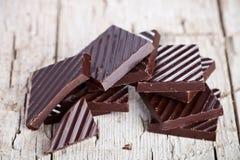 Czekoladowy cukierki zbliżenie Zdjęcia Stock
