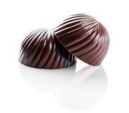 Czekoladowy cukierki zbliżenie Obrazy Stock