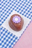 czekoladowy cukierku jajko zdjęcia stock
