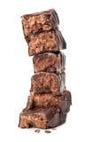 czekoladowy cukierku obruszenie Zdjęcie Royalty Free