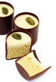 czekoladowy deser Fotografia Royalty Free