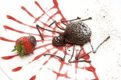 czekoladowy deser Zdjęcia Royalty Free