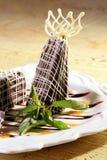 czekoladowy deser Obraz Royalty Free