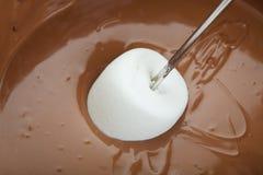 czekoladowy fondue Zdjęcie Royalty Free