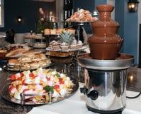 czekoladowy fondue Fotografia Royalty Free