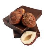czekoladowy hazelnut Fotografia Royalty Free
