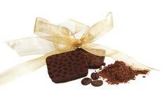 czekoladowy inkasowy luksusowy Obrazy Stock