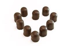 czekoladowy kierowy marshmallow Obrazy Stock
