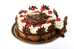 czekoladowy kulebiak Zdjęcia Royalty Free