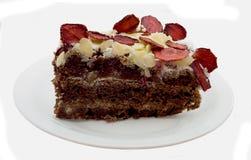 czekoladowy kulebiak Zdjęcia Stock
