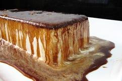Czekoladowy lody tort Zdjęcie Stock