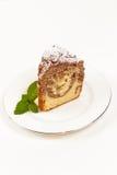 Czekoladowy marmurowy tort Fotografia Royalty Free