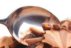 czekoladowy śmietanka lód Zdjęcie Stock