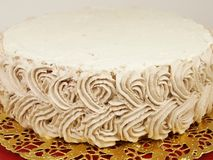 Czekoladowy śmietanka tort Obraz Stock