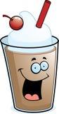 czekoladowy milkshake royalty ilustracja