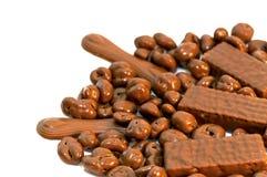 czekoladowy mleko Zdjęcie Stock