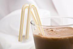 czekoladowy mleko Zdjęcia Stock