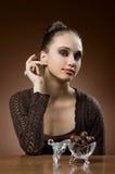 czekoladowy niebo Fotografia Stock