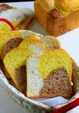 Czekoladowy pomarańczowy chleb Zdjęcia Royalty Free