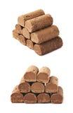 Czekoladowy praline cukierek odizolowywający fotografia royalty free