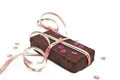 czekoladowy prezent Fotografia Royalty Free