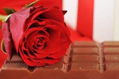 czekoladowy prezent obrazy stock