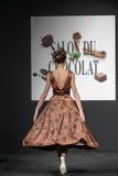 Czekoladowy przedstawienie salon Du Chocolat Zdjęcie Royalty Free