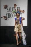 Czekoladowy przedstawienie salon Du Chocolat Zdjęcia Royalty Free