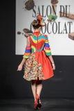 Czekoladowy przedstawienie salon Du Chocolat Obrazy Stock