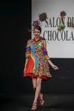 Czekoladowy przedstawienie salon Du Chocolat Fotografia Stock