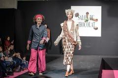Czekoladowy przedstawienie salon Du Chocolat Zdjęcia Stock