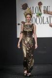 Czekoladowy przedstawienie salon Du Chocolat Obrazy Royalty Free