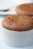 czekoladowy pudding fotografia stock