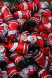 czekoladowy Santa Zdjęcie Royalty Free