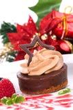 czekoladowy sernik Zdjęcia Stock