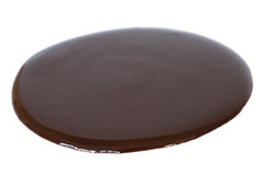 czekoladowy syrop Fotografia Royalty Free