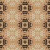 Czekoladowy Tapetowy Bezszwowy wzór Ilustracji