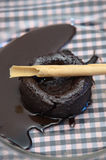 Czekoladowy tort Fotografia Royalty Free