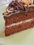 Czekoladowy tort Zdjęcia Stock