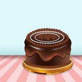 Czekoladowy tort Obrazy Stock