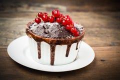 Czekoladowy tort Obraz Stock