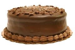 czekoladowy tort całe Zdjęcia Royalty Free