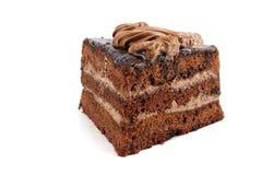 Czekoladowy tort trzy torta Obraz Stock