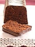 Czekoladowy tort fotografia stock