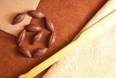 czekoladowy zawijas Zdjęcie Stock
