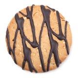 czekoladowy zbliżenia ciastka wizerunek Fotografia Stock
