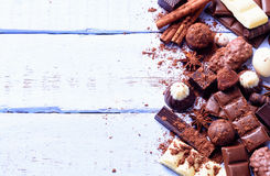 czekolady Zdjęcia Royalty Free