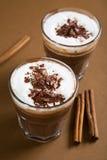 czekolady gorący piankowy Zdjęcie Royalty Free